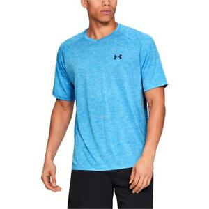 Under Armour Mens Running Fitness Workout T-Shirt Athletic BHFO 9443