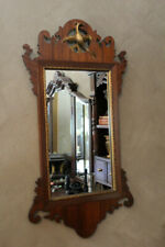 Chippendale Gilt Mirror with Carved Phoenix Fretwork Scotts Hill, Nc