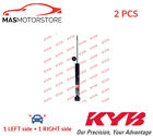 SHOCK ABSORBER SET SHOCKERS REAR KYB 343274 2PCS A NEW OE REPLACEMENT