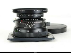 Lens Schneider-Kreuznach Apo Digitar 5,6/35mm XL 102 MC For Alpa 12  Mint
