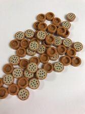1 X Lego medio oscuro carne Azulejo Redondo 1x1 Cookie Galleta Comida NUEVO. ref 18 15