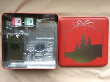 Stampin Up! Christmas Traditions Punch Box~stamp set,punch,ink,block~NEWRetired