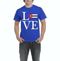 Love Cuba  Men Shirts T-Shirt Tee