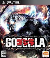 USED BANDAI PS3 Godzilla PlayStation 3 JAPAN