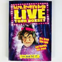 Mrs Browns Boys Live Tour DVD Boxset Too Rude For TV - Rides Again Good Mourning
