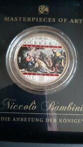 "Cook 20 Dollars Masterpieces of Art, Niccolo Bambini ""Die Anbetung der Könige"""