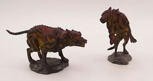 Professionally Custom Painted Wizkids Deep Cuts Hell Hounds #72581 Demon Dogs