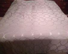 Hotel Collection Sage Green King Size Duvet Cover Linen Blend Oval Designed