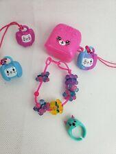 Shopkins Jewelry Bracelets Ring Lot