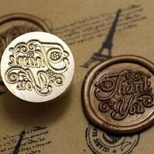 Thank You Symbol Letter Sealing Wax Seal Stamp Wedding Card Making Craft DIY