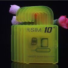R-SIM 10+ Plus RSIM Nano Card for iPhone 4S 5 5S 5C 6 6+ 4G 2G 3G LTE iOS 9.x