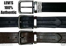 Levis Leather Reversible Belt. Black/Brown Size(34)