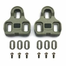 Look Keo compatible pedal cleats replacement set - Grey 5° float