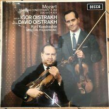 SXL 6088 Mozart Sinfonia Concertante, Duo In G / David & Igor Oistrakh