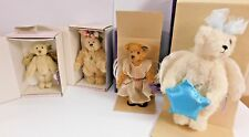 Lot 4 Annette Funicello Bears w/ Boxes - Melody Demitri Envy Luna Nice Clean