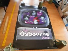"The Osbourne Family Tv show Ozzy poster Funky 22x34.5"" 2002"