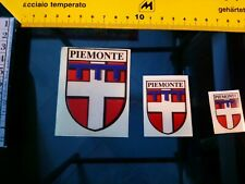 02a Sticker  3  coat of arms OF piemonte italy mint