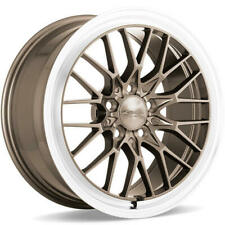 "(4) 18"" Ace Alloy Wheels AFF04 Bronze with Machined Lip Rims(B45)"