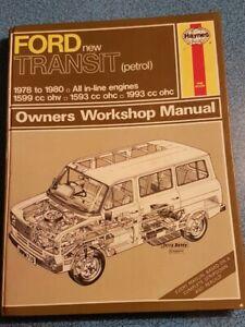 Haynes Owner's Workshop Manual: Ford new Transit (petrol) 1978 to 1980