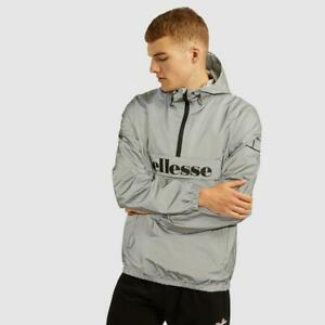 Ellesse Mens Acera Reflective Jacket-Reflective