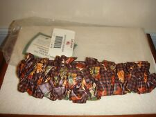 Longaerger Garter Medium Fall Gingham Plaid