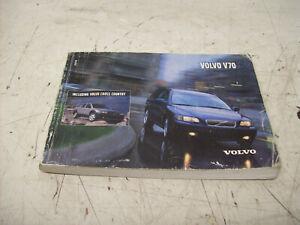 Volvo V70 2 Cross Country Betriebsanleitung Handbuch Bedienungsanleitung 2002