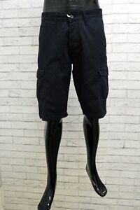 Bermuda Uomo Wrangler Taglia 34 Shorts Cotone Pinocchietto Pantaloncino Blu