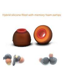 SYMBIO Ws Silicone+Memory Foam Spec. Hybrid Univ. Ear Tips Shure Westone SONY BO