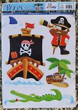 Pirate Wall Stickers Decals Stickarounds Kids Girls Boys Bedroom Baby Furniture
