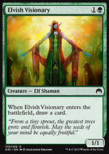 MTG 4x ELVISH VISIONARY - ELFA VISIONARIA - ORI - MAGIC