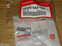 CR125R Honda XR650-R New Genuine Clutch Lever Cable Adjusting Bolt 53192-KA3-700