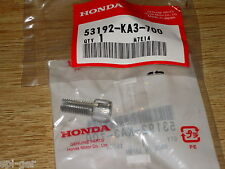CR125R Honda XR650-R New Genuine Clutch Lever Cable Adjusting Bolt 53192-KA3-700