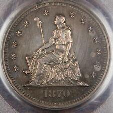1870 Seated Silver Quarter 25c Pattern Coin Standard Judd-877 PCGS PR-61
