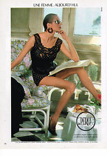 PUBLICITE ADVERTISING 044   1986   LA PERLA   sous vetements corset 2
