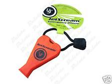 Ultimate Survival Orange Jet Scream Whistle Pealess NEW