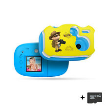 1080P DIY Digital Camera Cute Camcorder Video Recorder for Children Kids Baby US