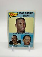 1965 Topps Angels Rookie Stars #537 Lopez/May/Roof