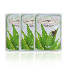 [URBAN DOLLKISS] Baviphat Snail Cure Mask Sheet 25g*3pcs / Korea cosmetic