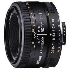 Nikon AF Nikkor 50mm f/1.8D Autofocus Lens, BRAND NEW
