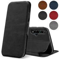 Handy Tasche für Huawei Nova 5T Hülle Schutzhülle Book Case Premium Flip Cover