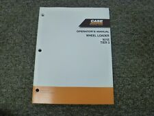 Case 921E Tier 3 Articulated Wheel Loader Owner Operator Maintenance Manual
