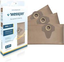 Wessper® Staubsaugerbeutel für Einhell TE-VC 1820 1250 RT-VC 1420 1500 1600