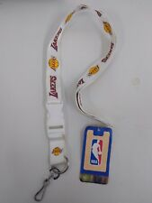 d2a38b10219 NBA Breakaway Lanyard Keychain Wristlet Los Angeles La Lakers