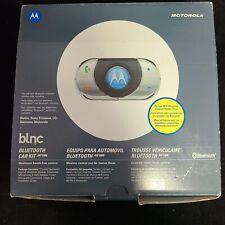 Motorola Bluetooth Car kit Ihf1000 New Nokia, Sony,Ericsson,lG,Siemens, Motorola