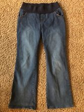 BABY AND ME Maternity Pregnancy Jeans Pants ~ Size S Small ~ Denim