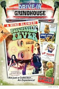PSYCHEDELIC FEVER / SUMMER SCHOOL + 2 --DRIVE-IN GRINDHOUSE- 2 DVD  SET - SEALED