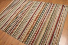 "5'4""x8'2"" Contemporay Chic Modern Wool Area Rug"