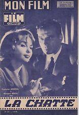 Revue Mon film Le film complet N°625 du 13 août 1958 La chatte Francoise Arnoul