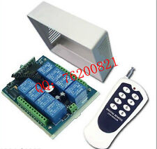 DC 12v relay 8CH wireless RF Remote Control Switch Transmitter+ Receiver Lamp