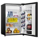 Danby Designer Energy Star 4.4-Cu. Ft. Compact Refrigerator/Freezer in Black photo